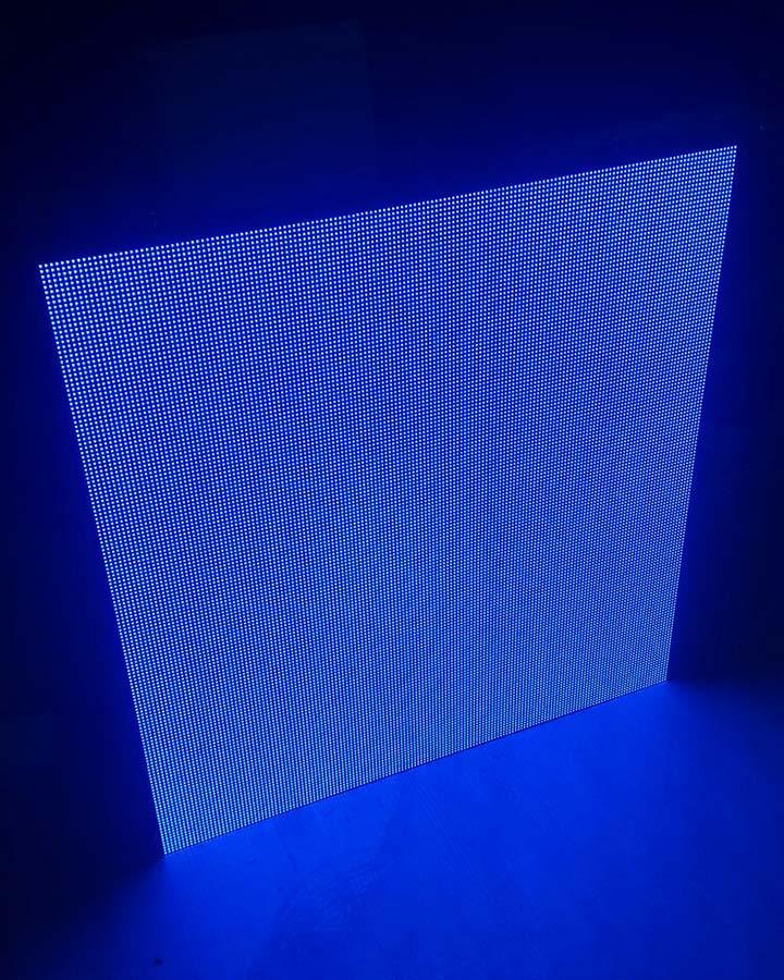 led kabin mavi